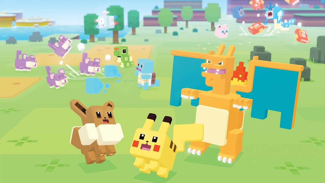 Pokémon Quest, il titolo free-to-play sbarca oggi su Nintendo Switch thumbnail