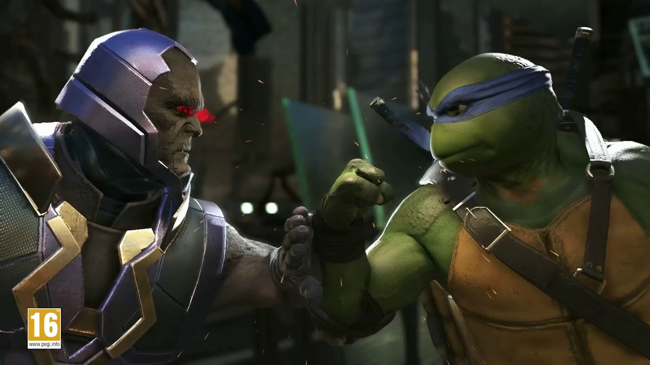 Le Teenage Mutant Ninja Turtles arrivano nel Multiverso di Injustice 2 thumbnail