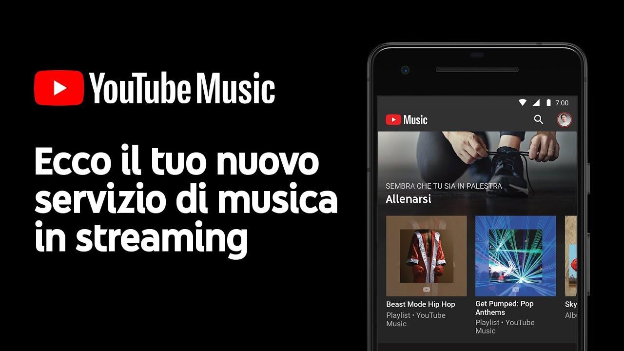 YouTube Music e YouTube Premium finalmente disponibili in Italia thumbnail