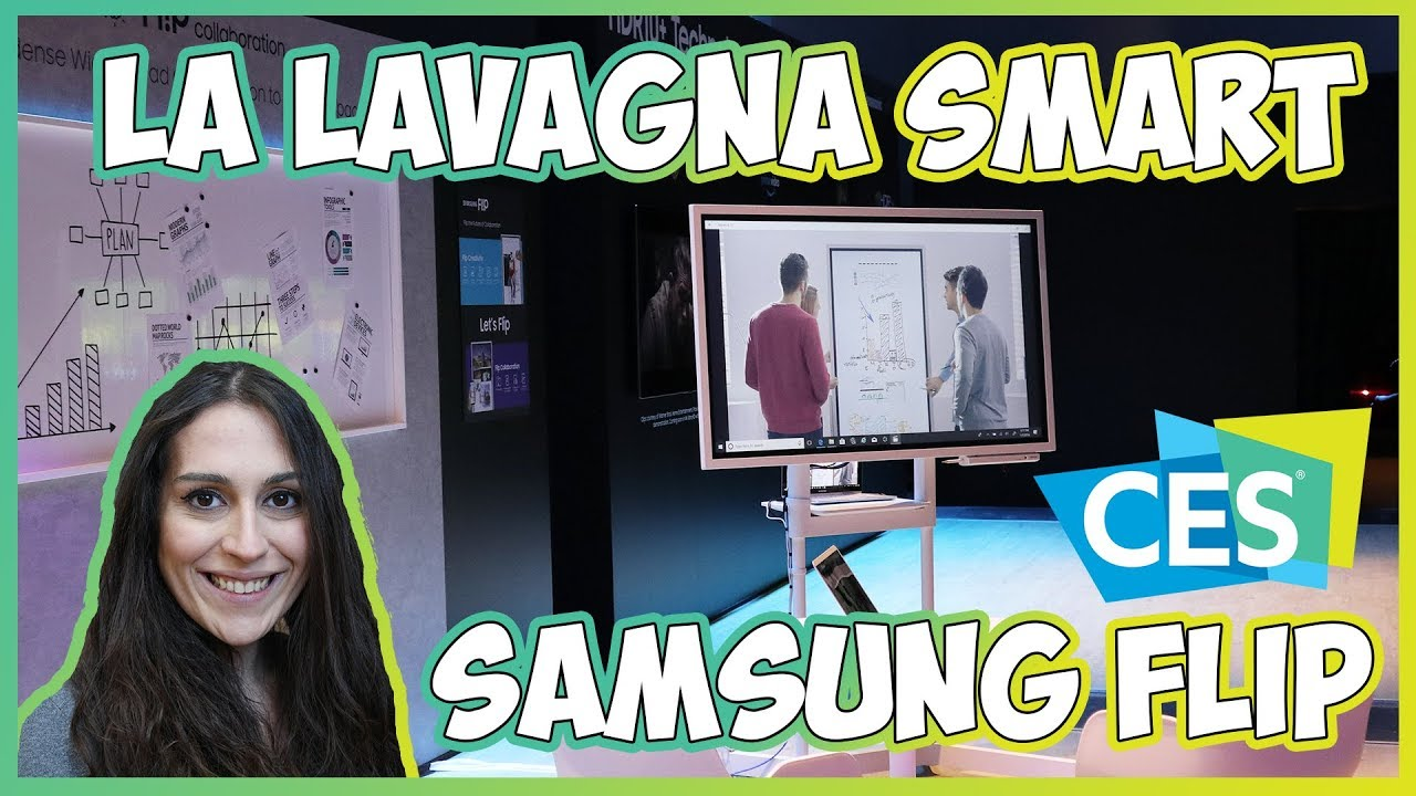 [CES 2018] Samsung FLIP, le vostre riunioni non saranno più le stesse thumbnail