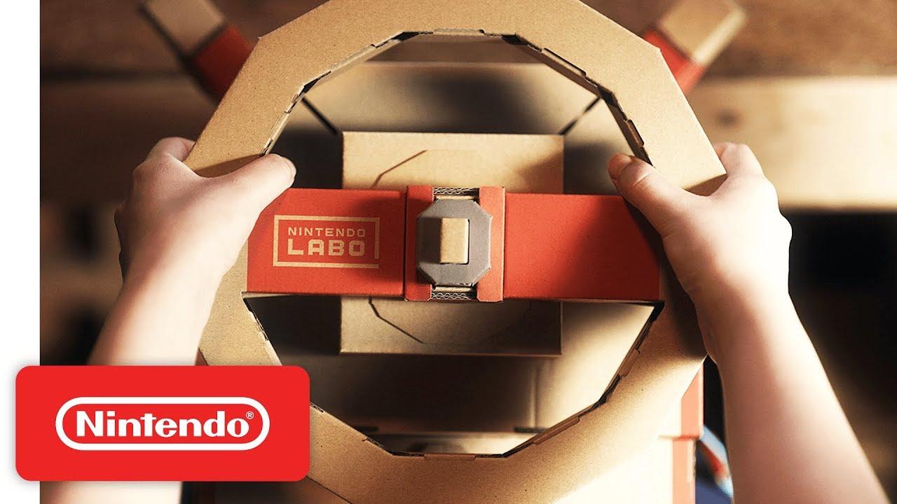 Nintendo Labo, l'arrivo del kit veicoli è previsto per settembre thumbnail