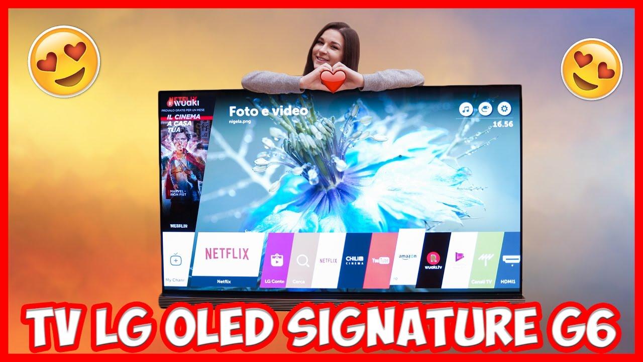 [Recensione] LG OLED Signature G6V – Un TV da paura thumbnail