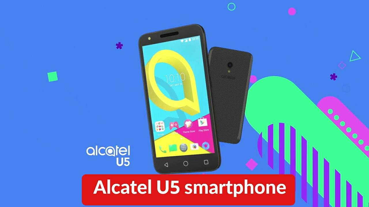 Alcatel annuncia l'arrivo sul mercato italiano del nuovo Alcatel U5 thumbnail