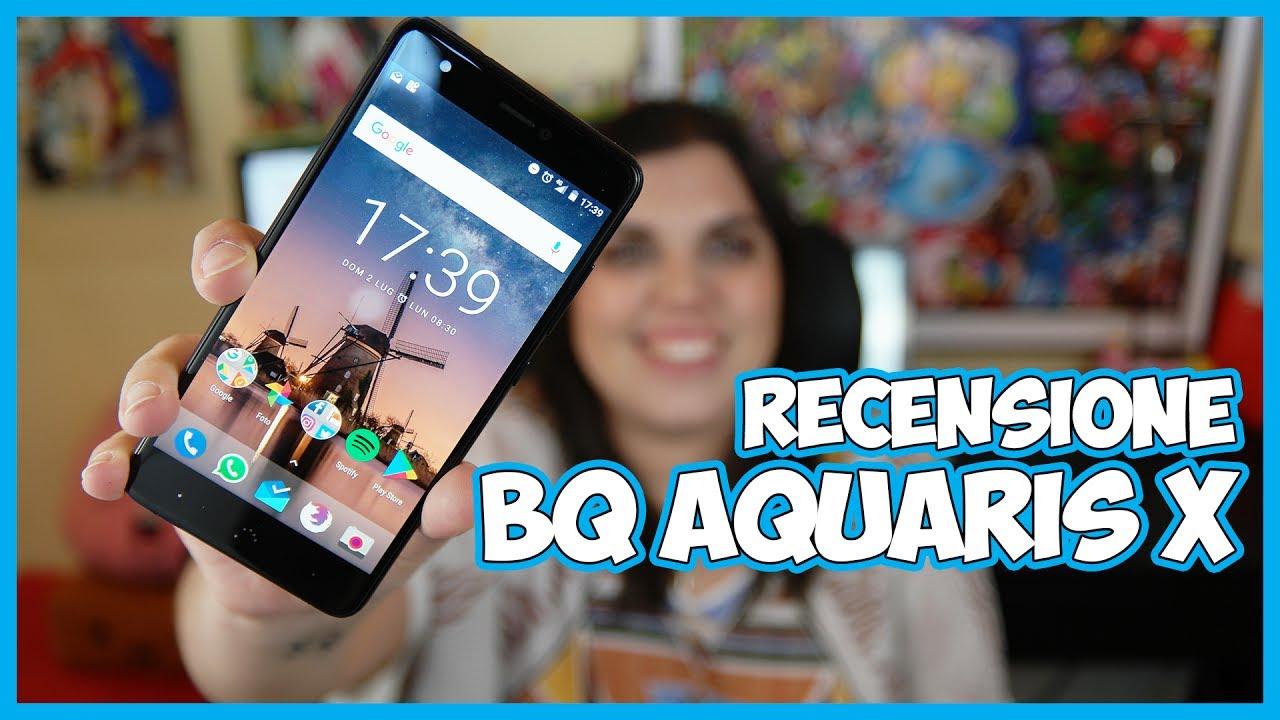 [Recensione] BQ Aquaris X: lo smartphone che vi sorprenderà! thumbnail