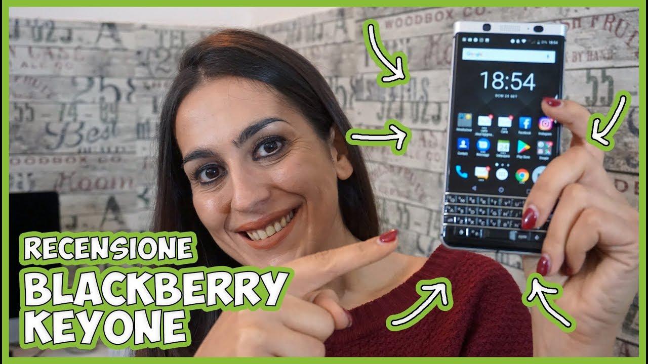 Recensione BlackBerry KeyOne, il medio di gamma con tastiera fisica thumbnail