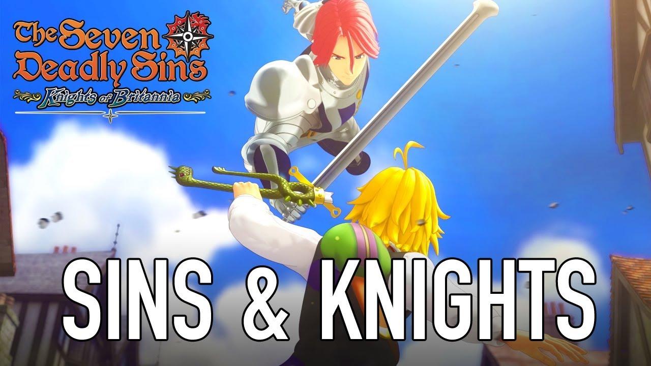 The Seven Deadly Sins: Knights of Britannia, ecco il trailer pre-lancio thumbnail