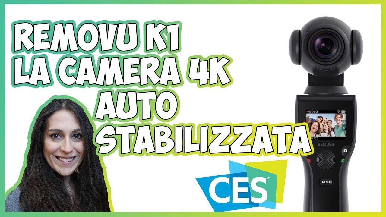 [CES 2018] Removu K1, la camera 4K con stabilizzatore integrato thumbnail