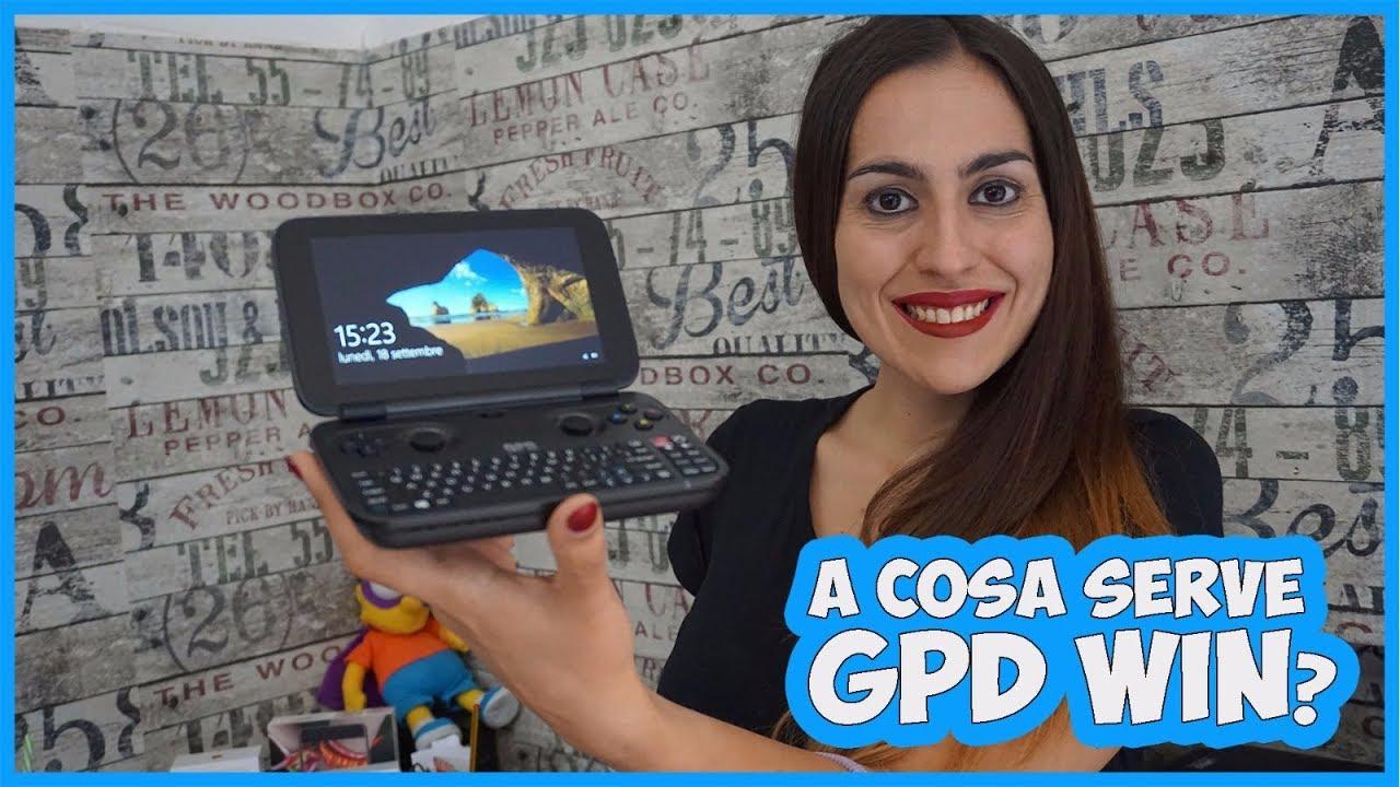 [Recensione] GPD WIN – il micro PC portatile che si atteggia a console da gaming thumbnail