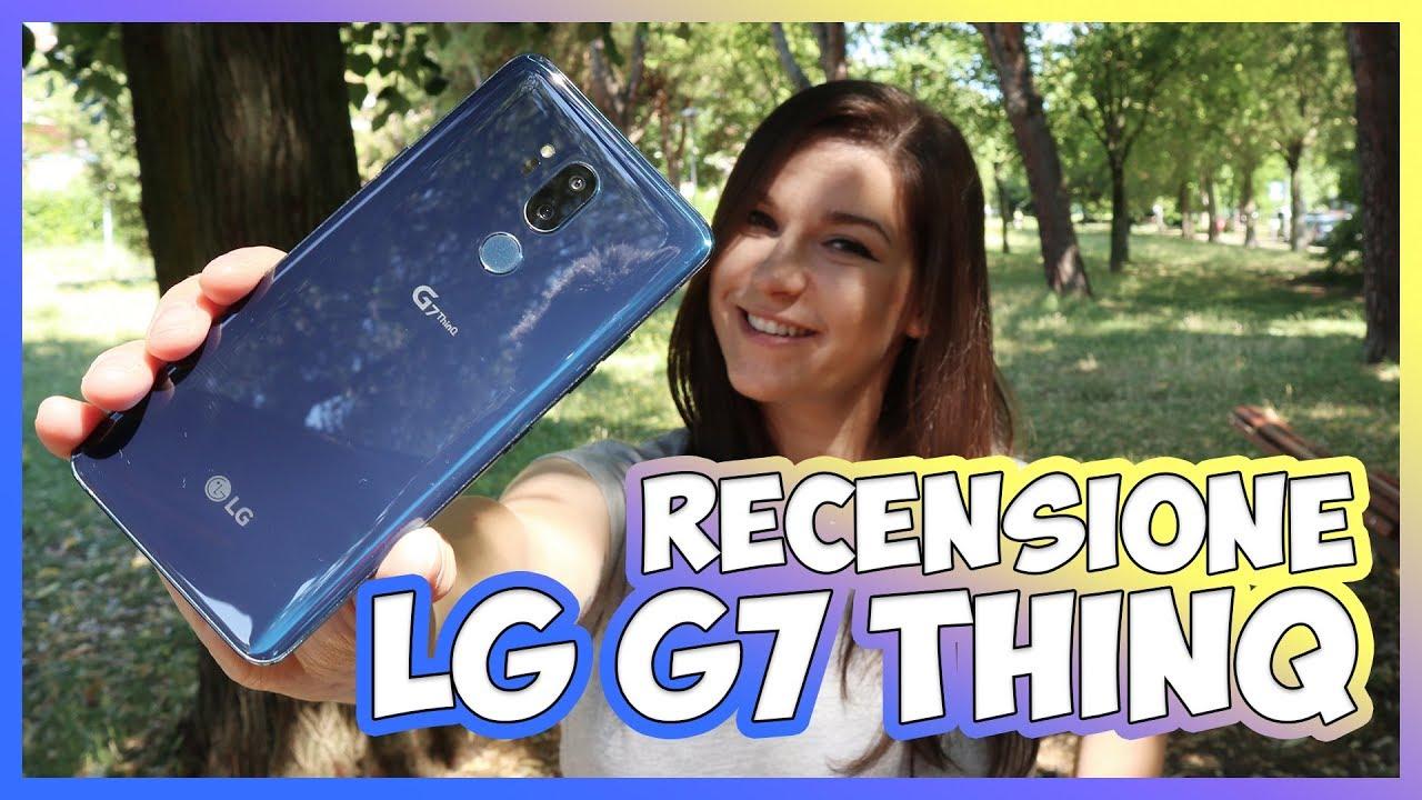 Recensione LG G7, lo smartphone con fotocamera grandangolare e boombox thumbnail