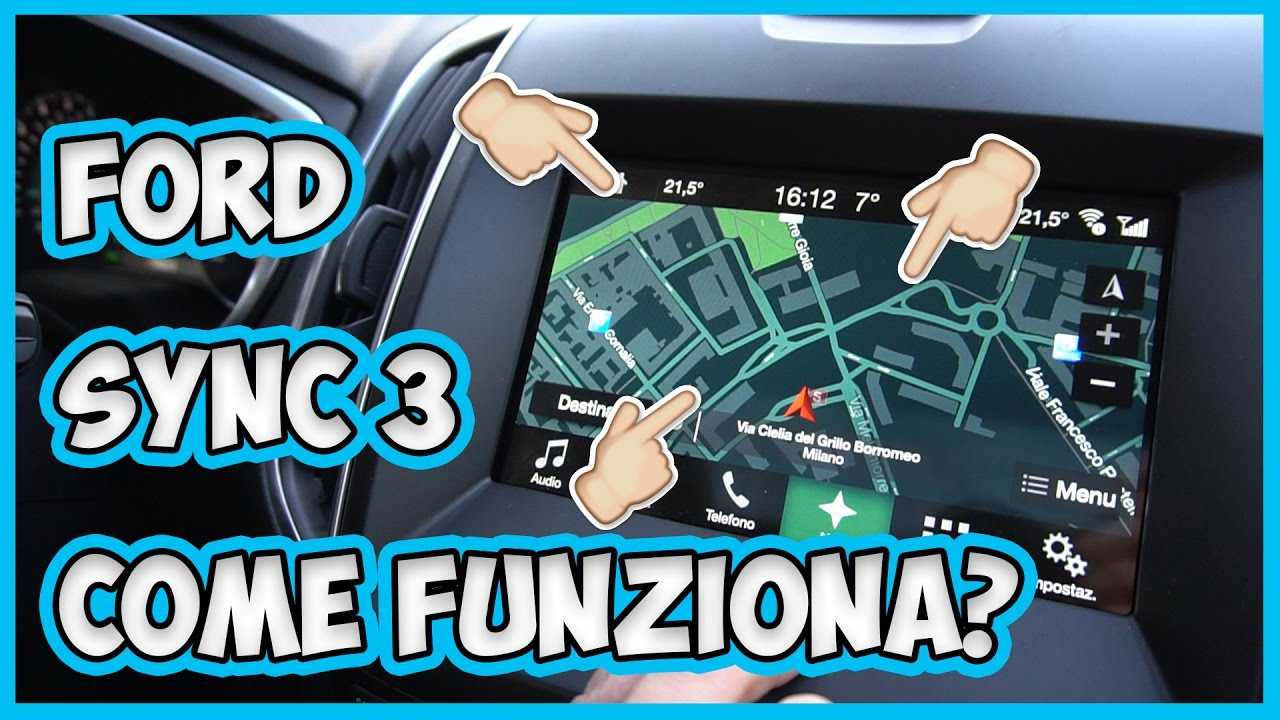Come funziona Ford Sync 3 con Android Auto ed Apple CarPlay? thumbnail