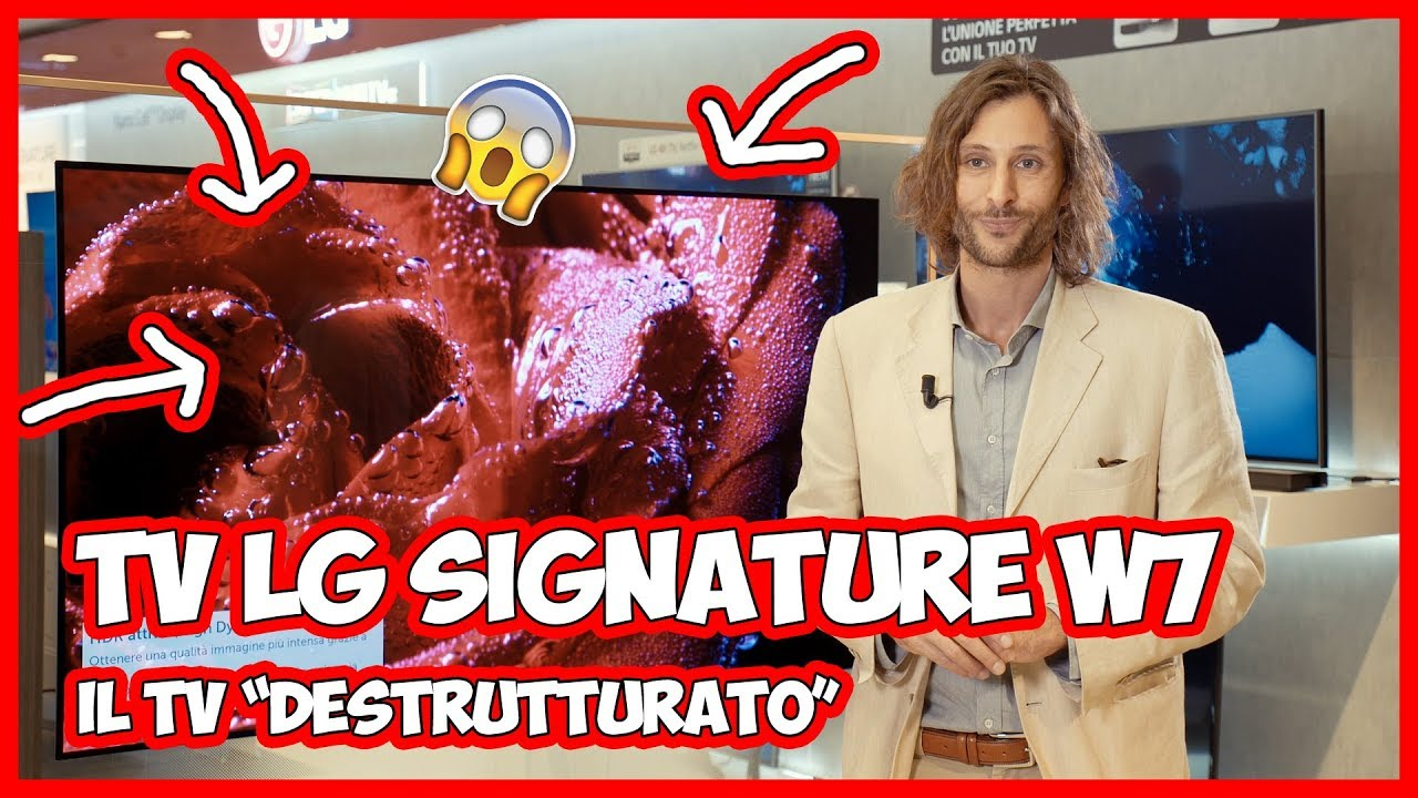 """LG Signature W7: com'è il nuovo TV OLED """"destrutturato""""? thumbnail"""