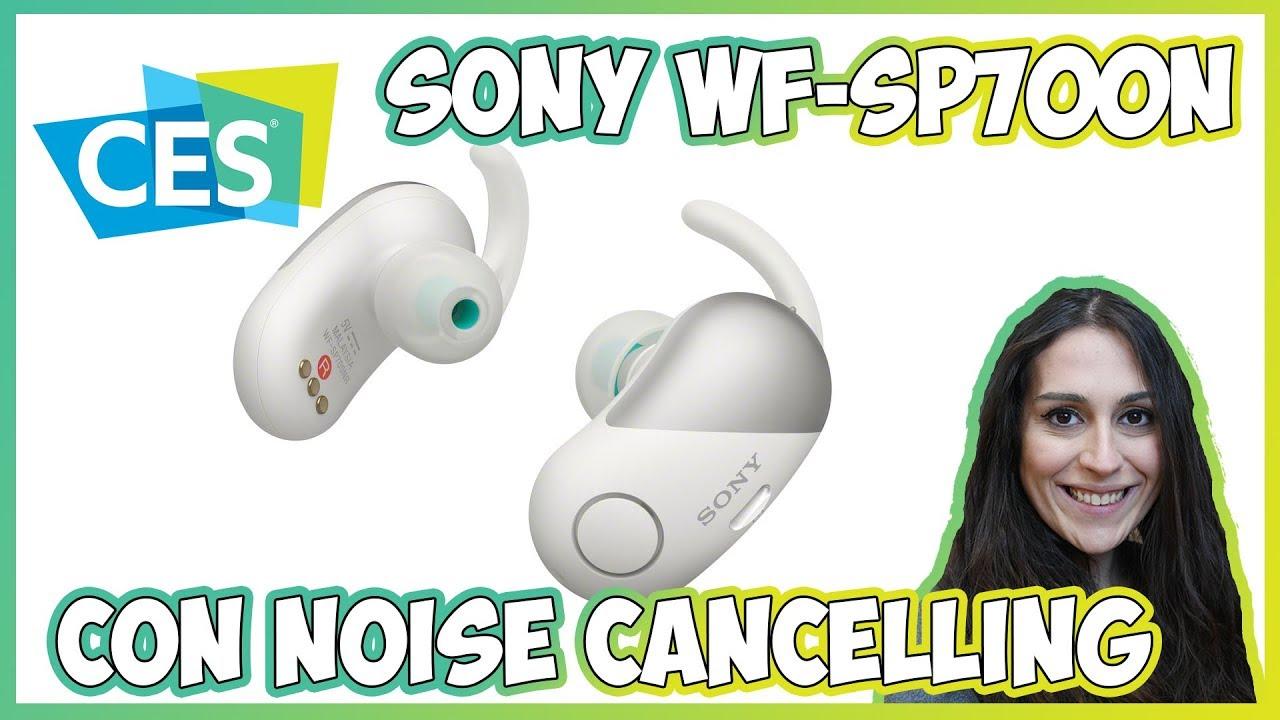 [CES 2018] Sony presenta  i primi auricolari IPX4 con noise cancelling thumbnail