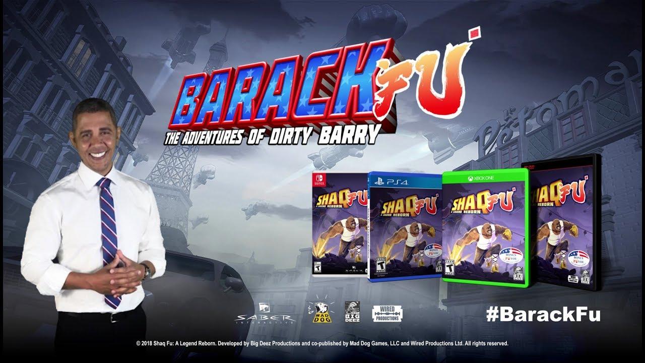 Barack Fu, arriva il videogioco con protagonista Barack Obama thumbnail