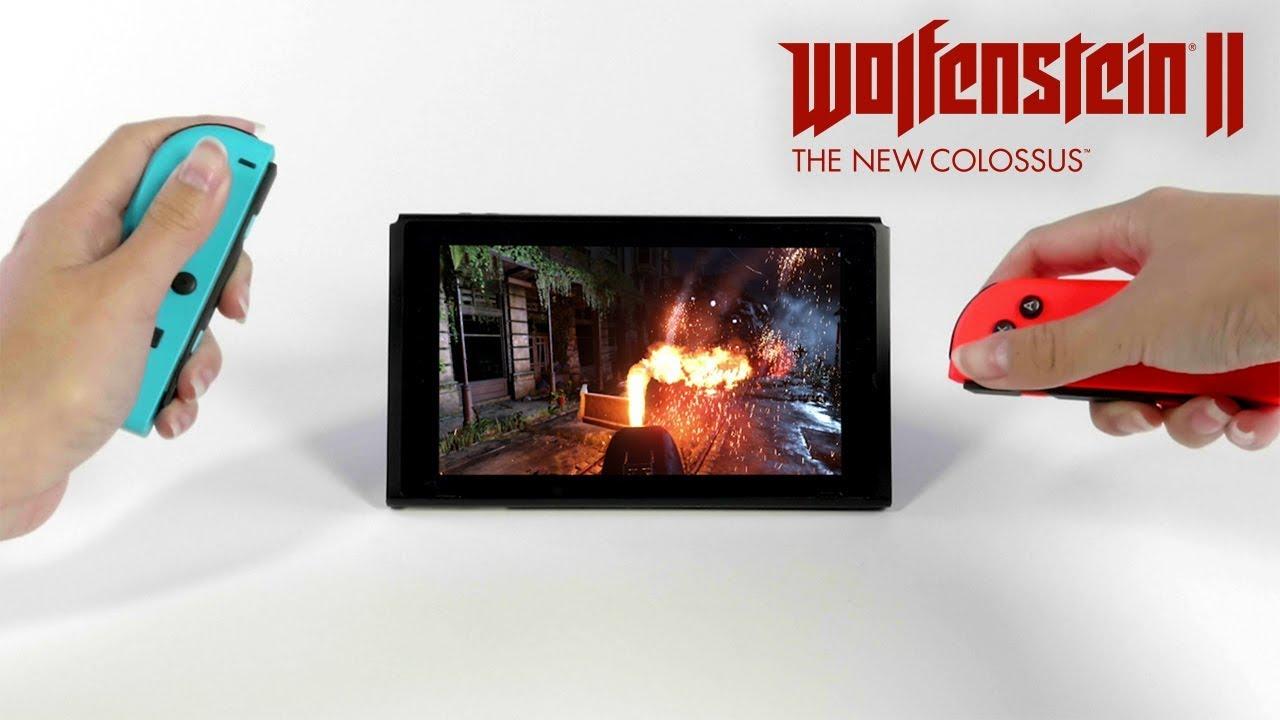 Wolfenstein II: The New Colossus disponibile da oggi per Nintendo Switch thumbnail