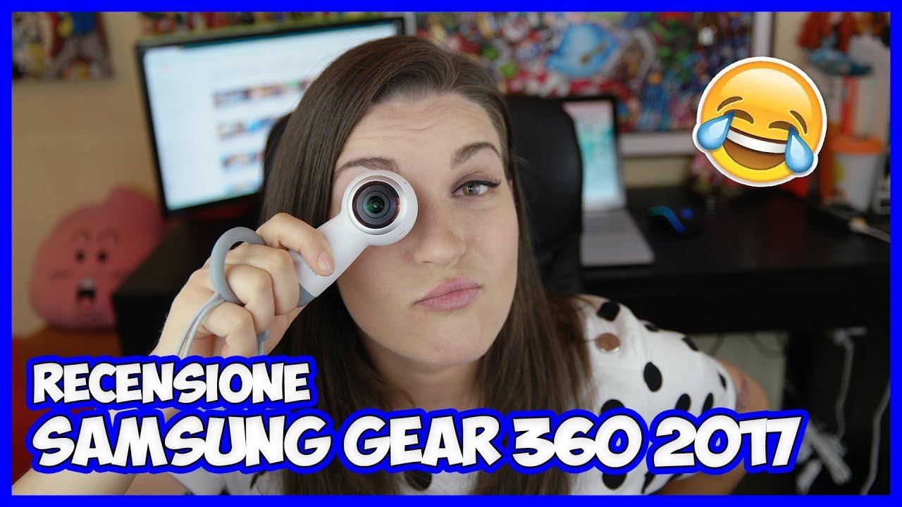 [Recensione] Com'è Samsung Gear 360 2017? thumbnail