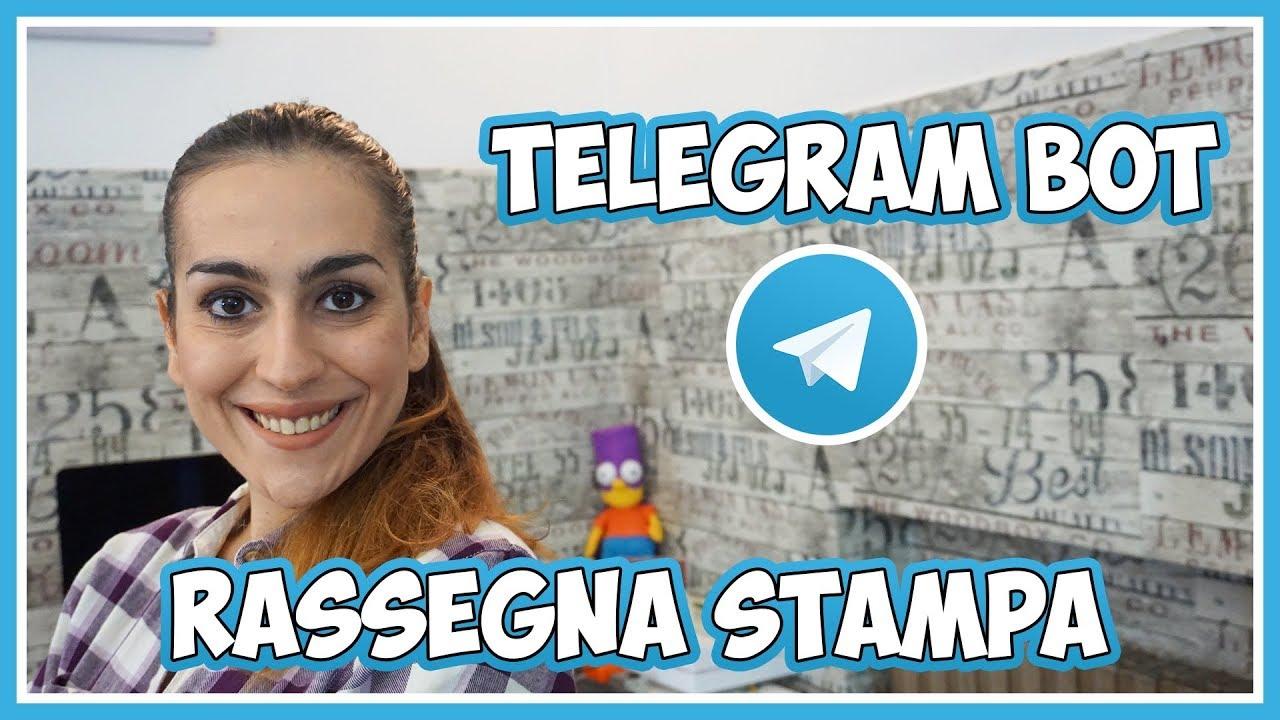 La tua rassegna stampa personalizzata grazie a Telegram thumbnail