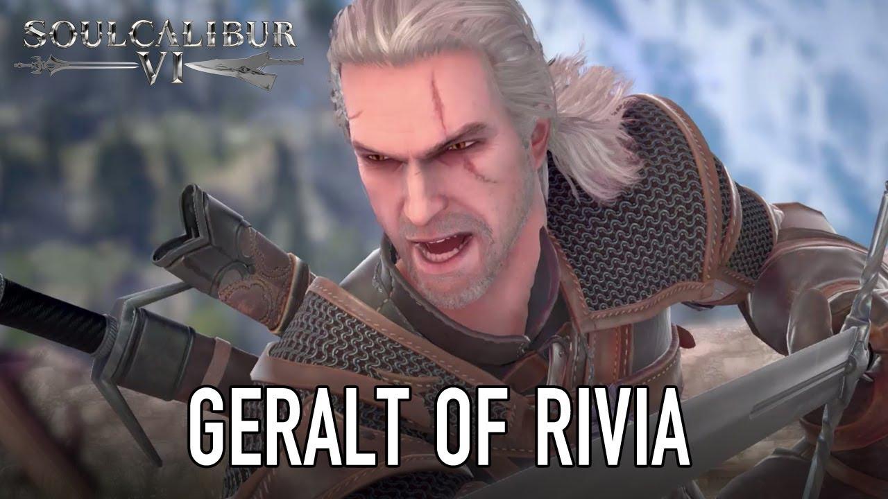 Il roster di Soul Calibur VI dà il benvenuto a Geralt di Rivia thumbnail