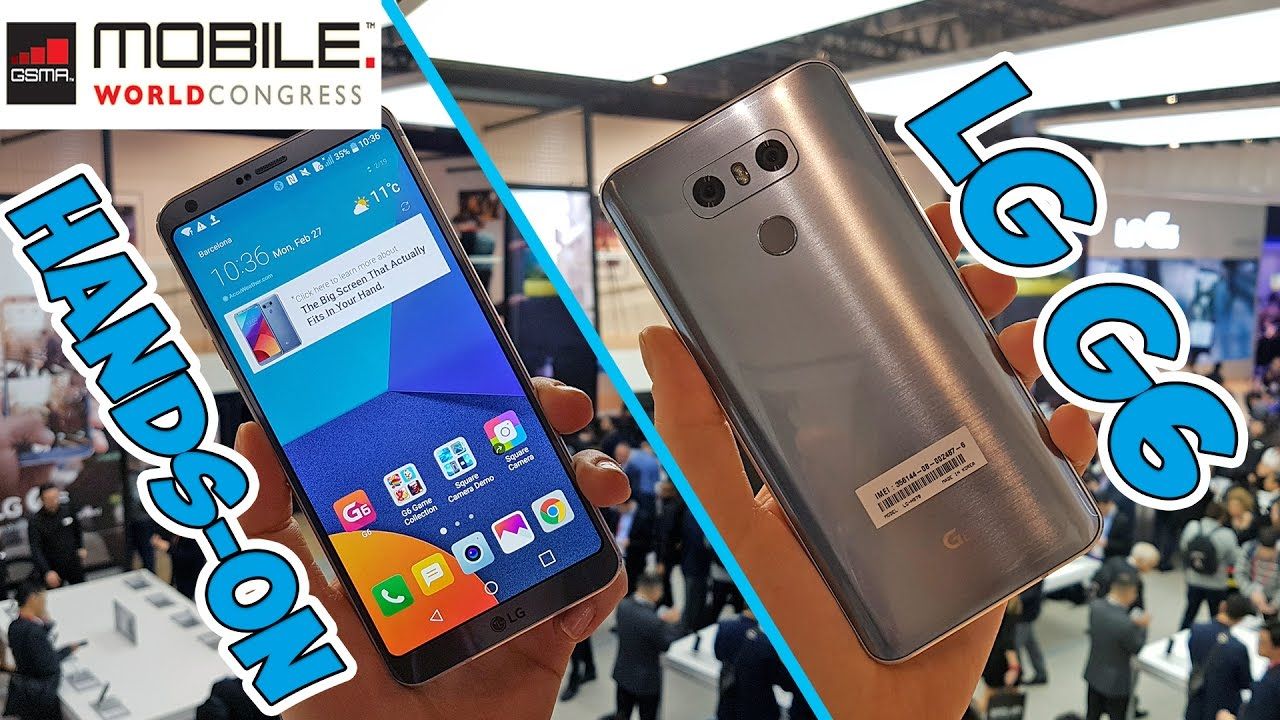 [MWC 2017] LG G6: prime impressioni thumbnail