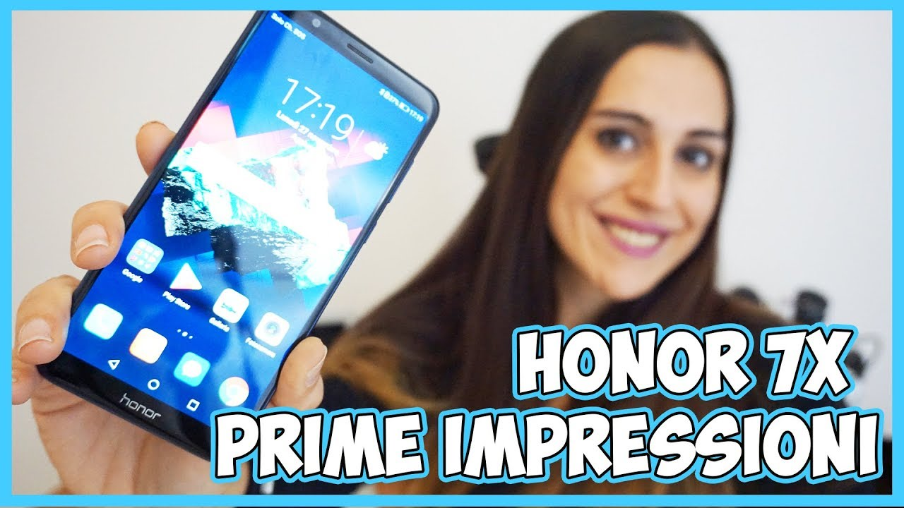 Honor 7X: prime impressioni del phablet con display FullView thumbnail