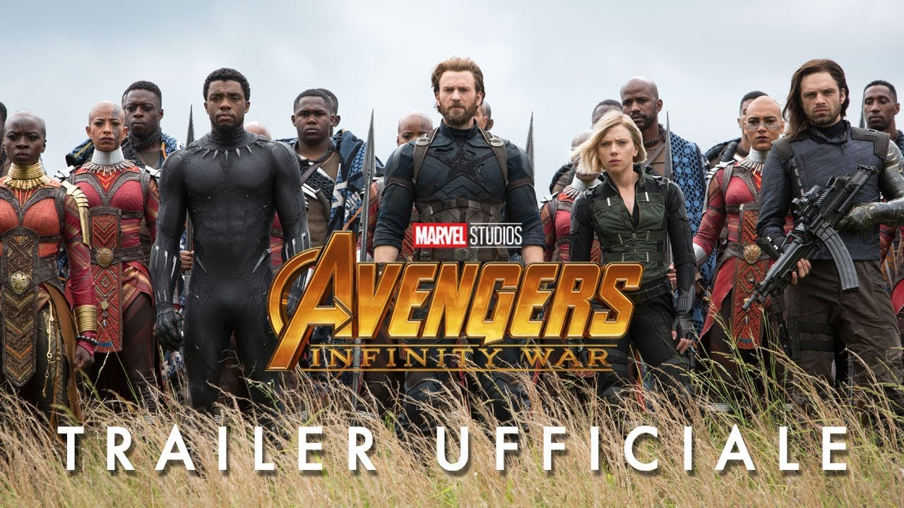 Avengers: Infinity War, ecco il nuovo trailer del film in uscita il 25 aprile thumbnail