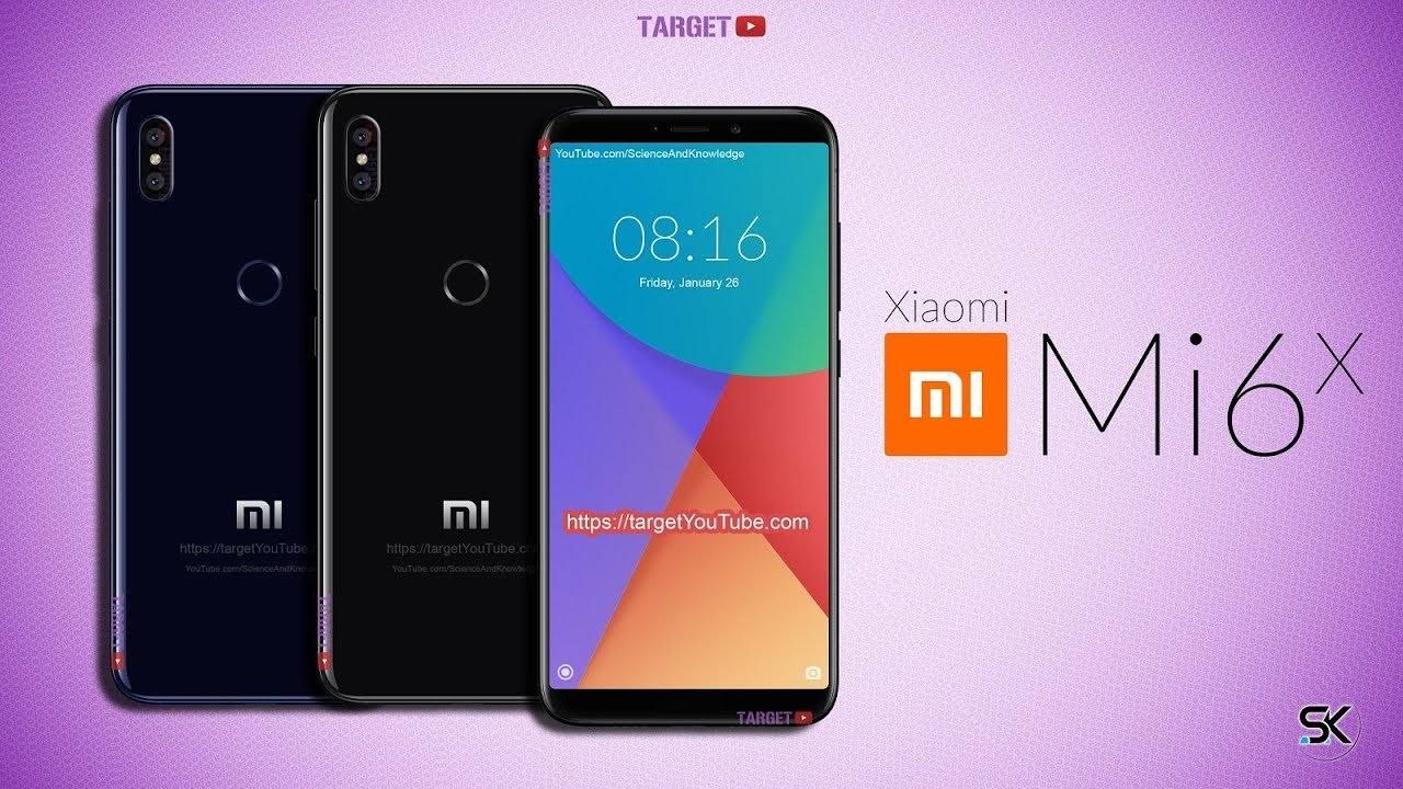 Xiaomi Mi 6X: il primo video concept mostra il suo design borderless thumbnail