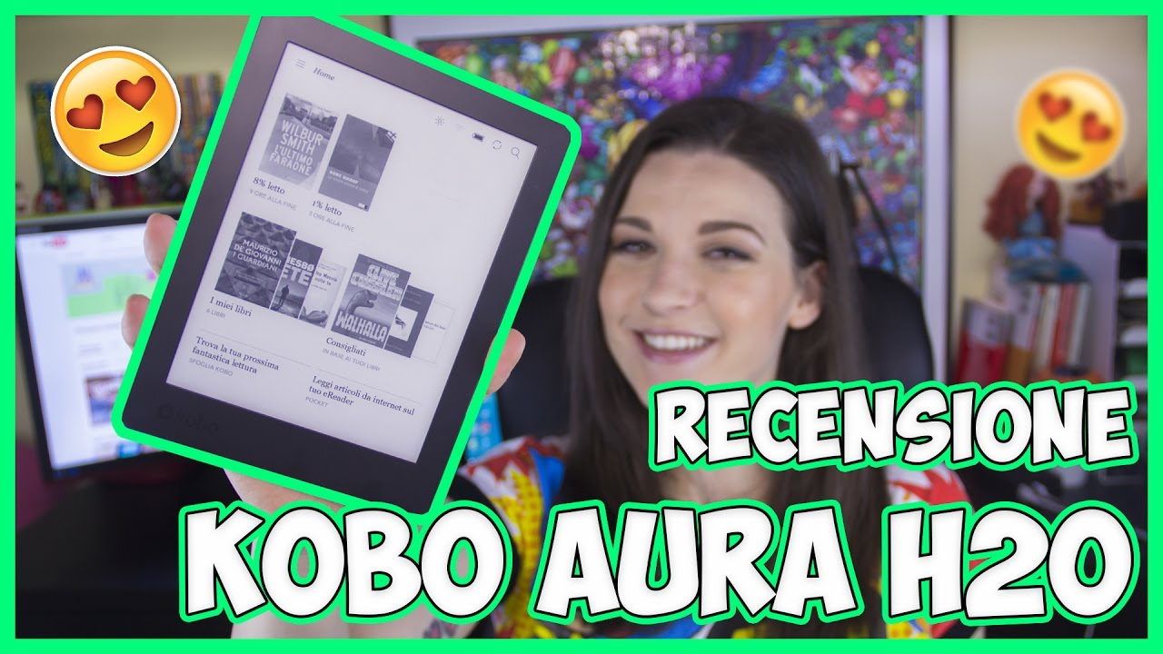 [Recensione] Kobo Aura H2O: l'ebook reader che non teme l'acqua thumbnail