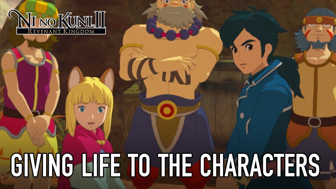 Ni No Kuni II: il secondo Behind the Scenes è dedicato ai personaggi thumbnail