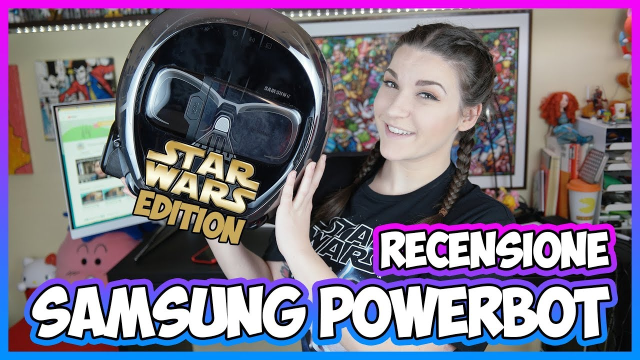 [Recensione] Samsung Powerbot VR7000: il robot aspirapolvere di Star Wars thumbnail