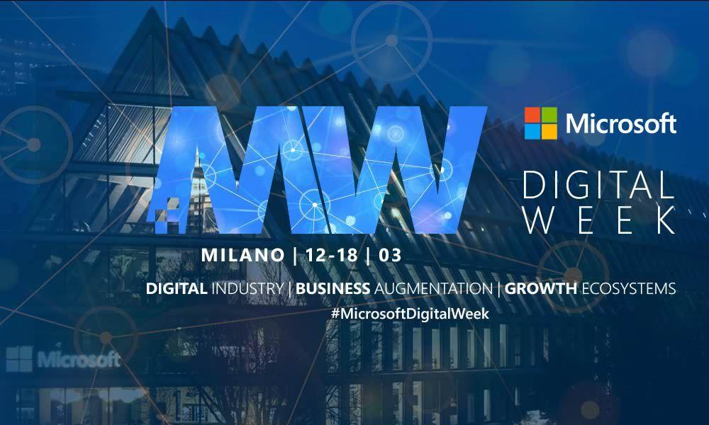 Microsoft Digital Week a Milano: ecco il programma dal 12 al 18 marzo thumbnail