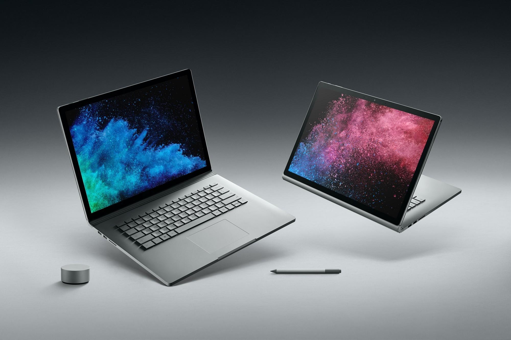 Microsoft Surface Book 2 è ufficialmente disponibile: caratteristiche, prezzi e versioni thumbnail