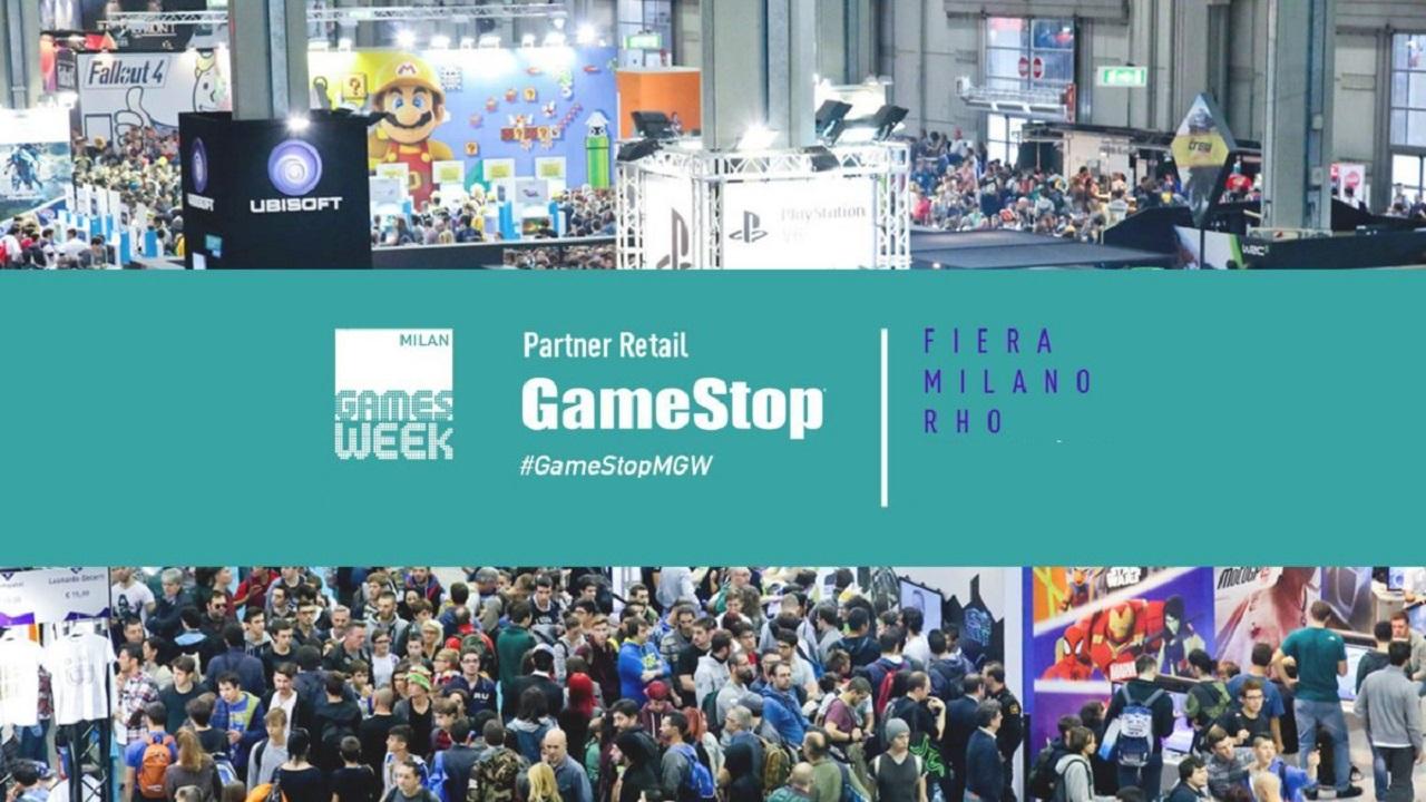 GameStop partner di Milan Games Week 2018 thumbnail