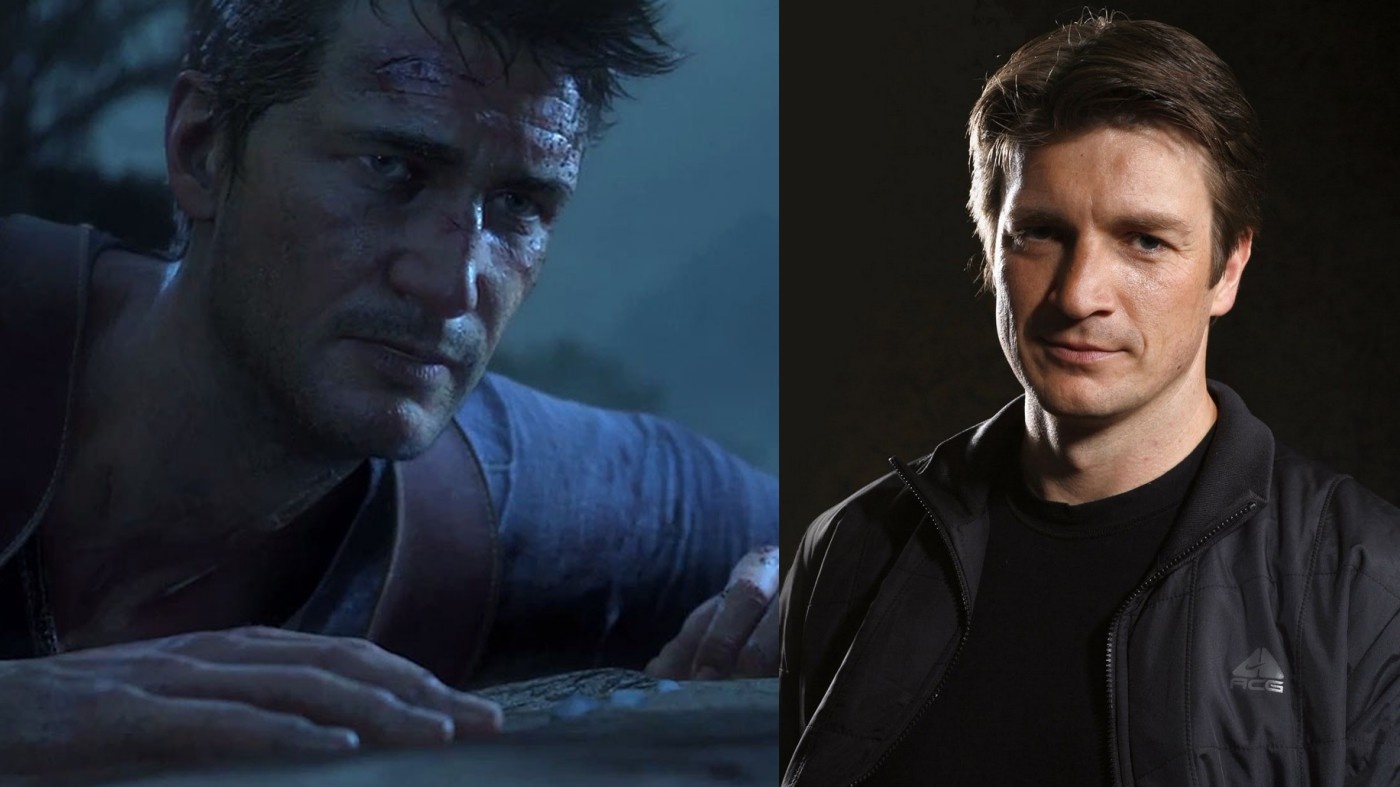 uncharted nathan fillion nathan drake movie film