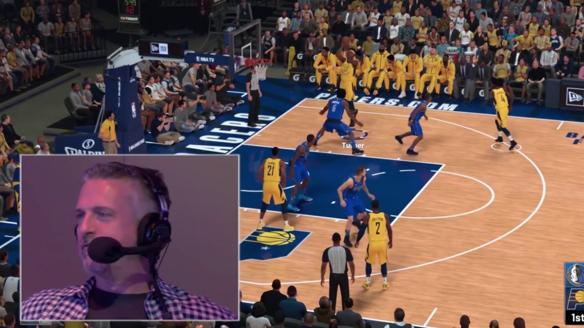 NBA 2K19: il nuovo trailer ci presenta i telecronisti del gioco thumbnail