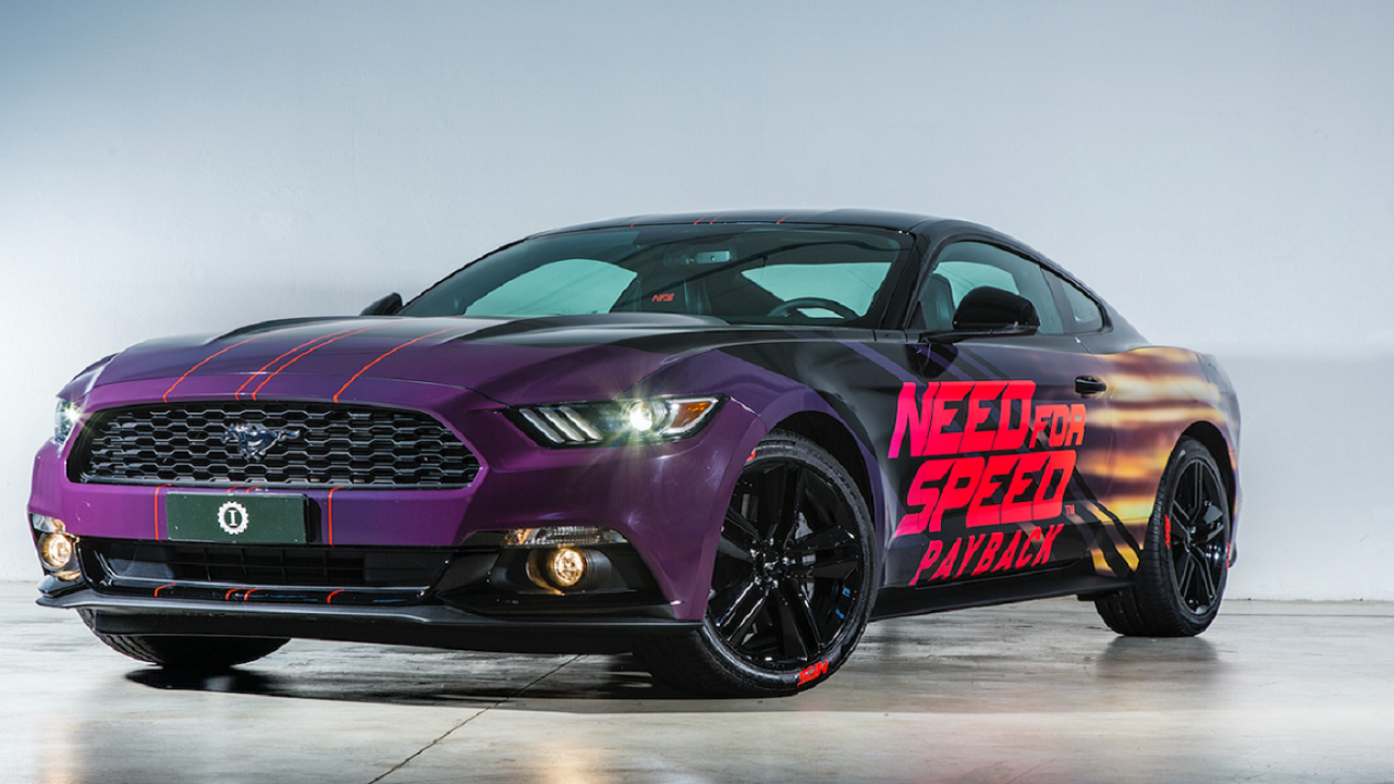 Dal videogioco alla strada: ecco Ford Mustang in stile Need For Speed Payback thumbnail