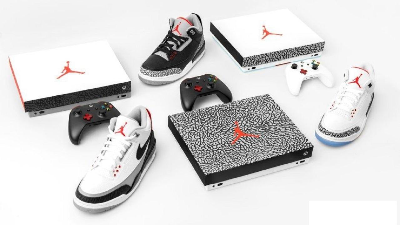 Microsoft e Nike regalano una Xbox One X ispirata a Air Jordan III thumbnail