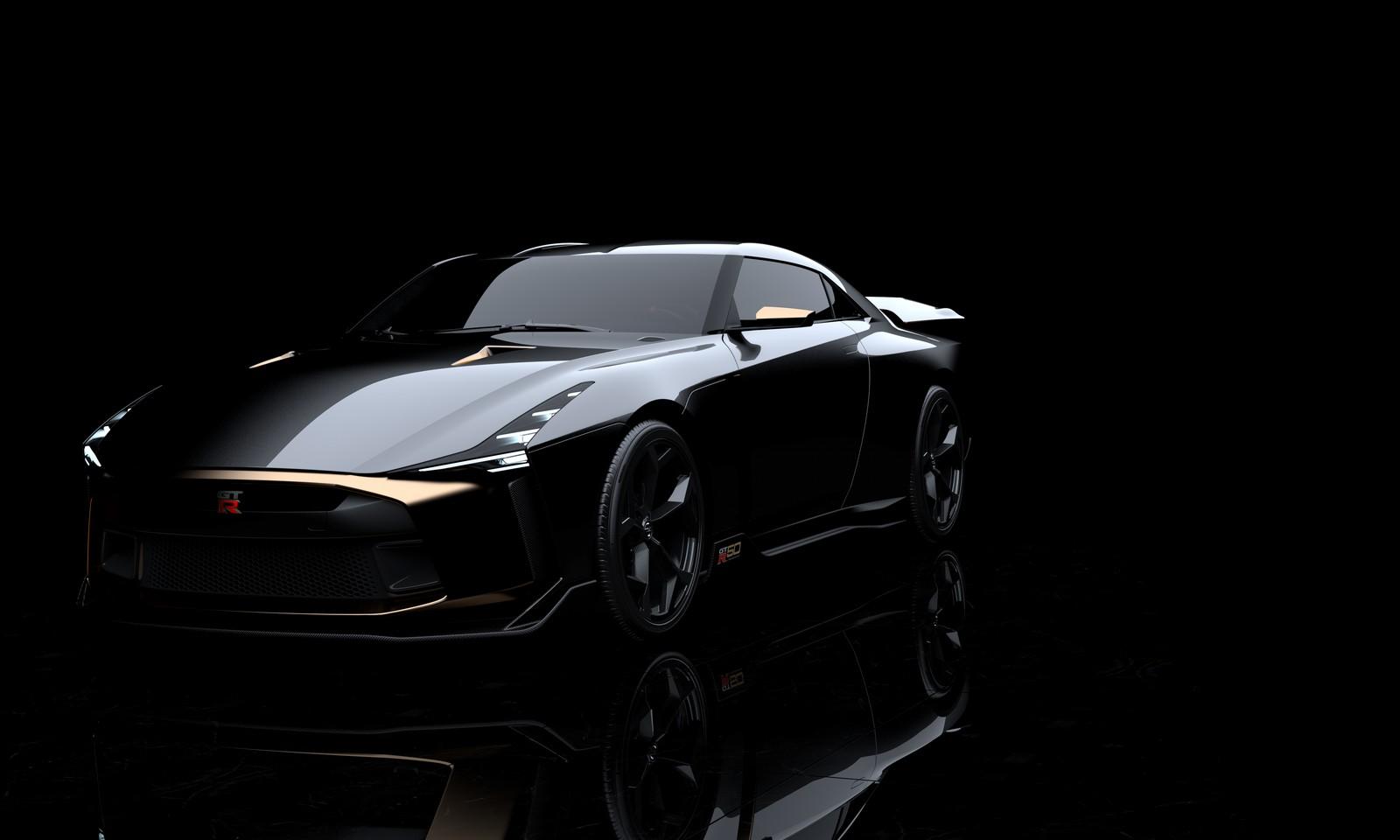 Nissan GT-R50 by Italdesign debutterà domani, 12 luglio thumbnail
