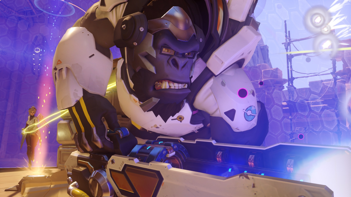 overwatch winston teaser new hero leak hammond blizzard entertainment