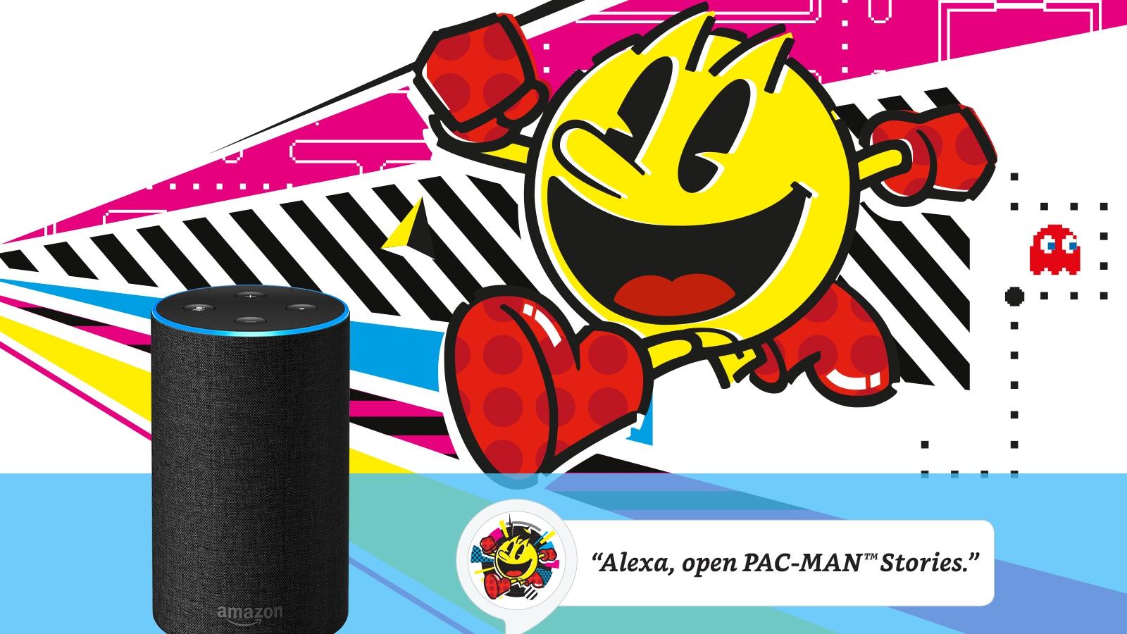 Pac-Man Stories, una nuova avventura interattiva per Amazon Alexa thumbnail