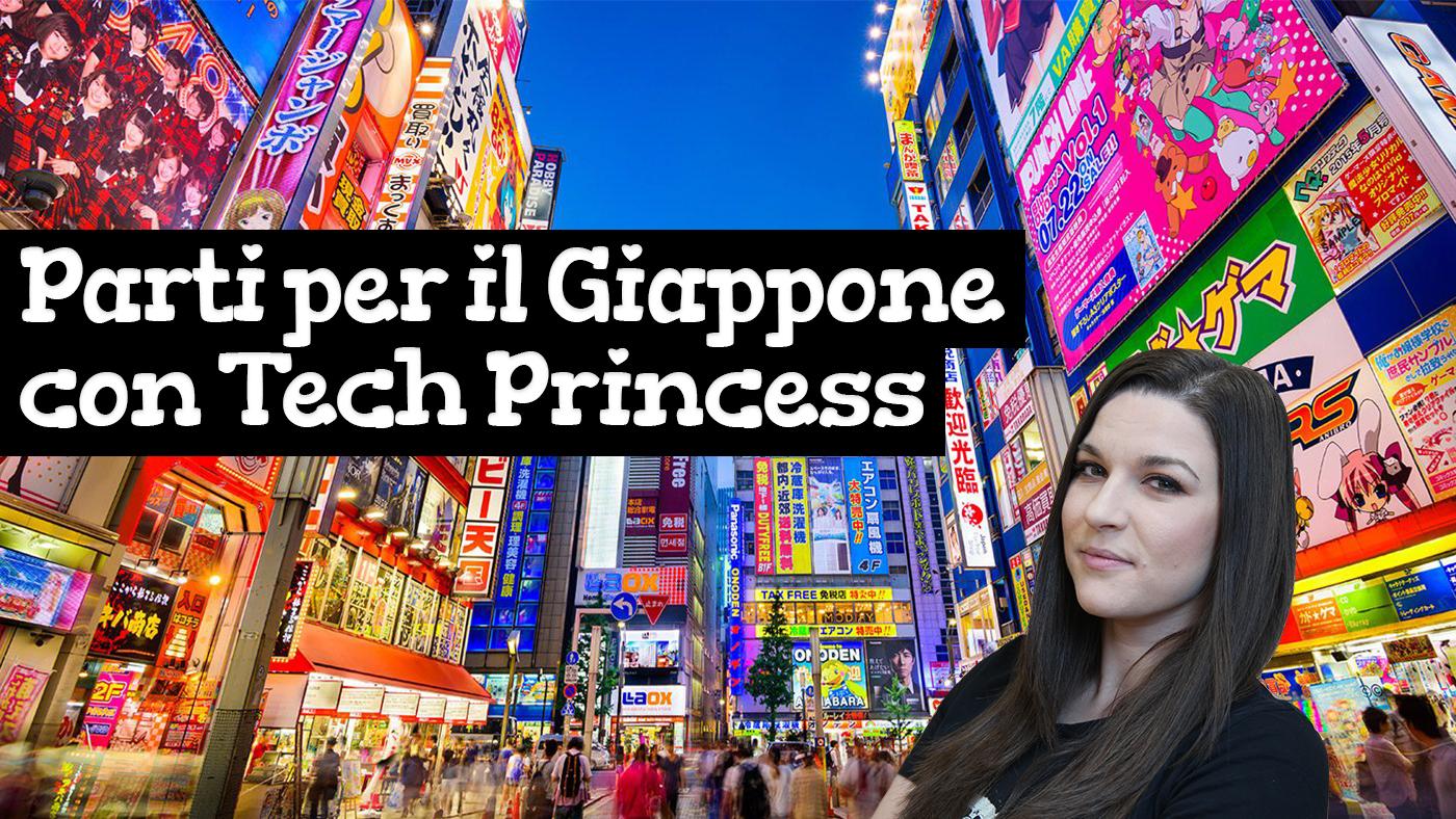 Parti per il Giappone con il viaggio organizzato da Tech Princess! (settembre 2018) thumbnail