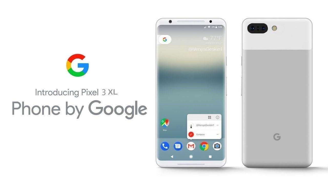 Pixel 3 XL: il logo sullo smartphone è Google thumbnail