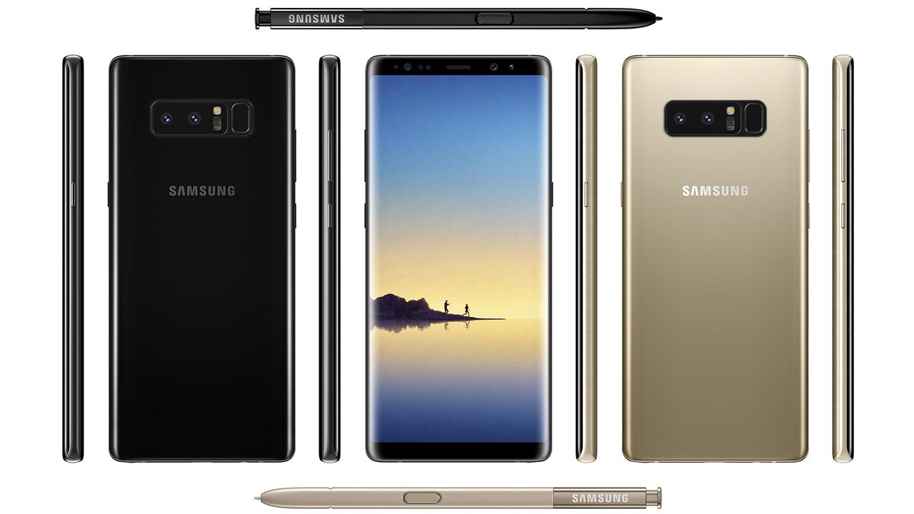 Samsung Galaxy Note 8: spuntano online i nuovi render thumbnail