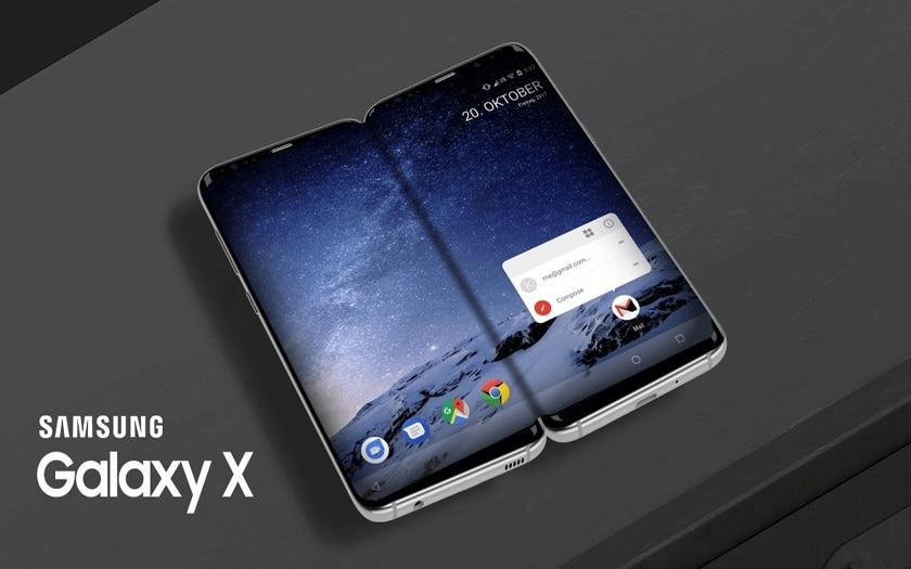 Samsung Galaxy X: lo smartphone con display pieghevole arriverà prima della fine del 2018 thumbnail