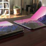 samsung galaxy x rumor foldable smartphone pieghevole