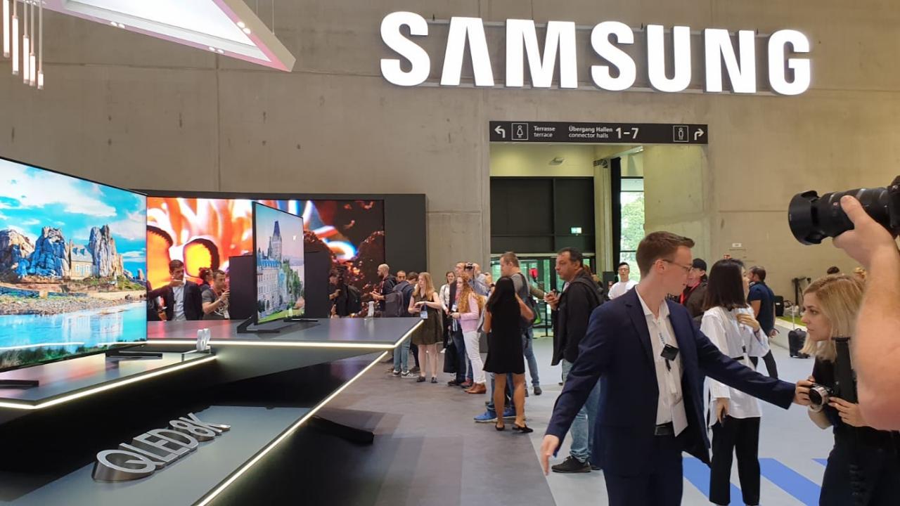 Samsung: gli annunci della press conference a IFA 2018