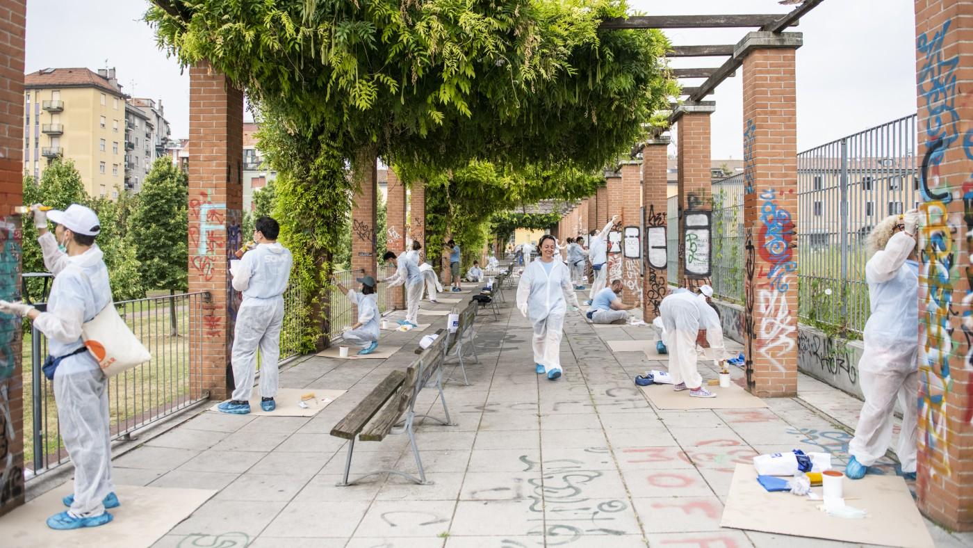 Samsung nuovamente in campo per la riqualificazione delle aree urbane di Milano thumbnail