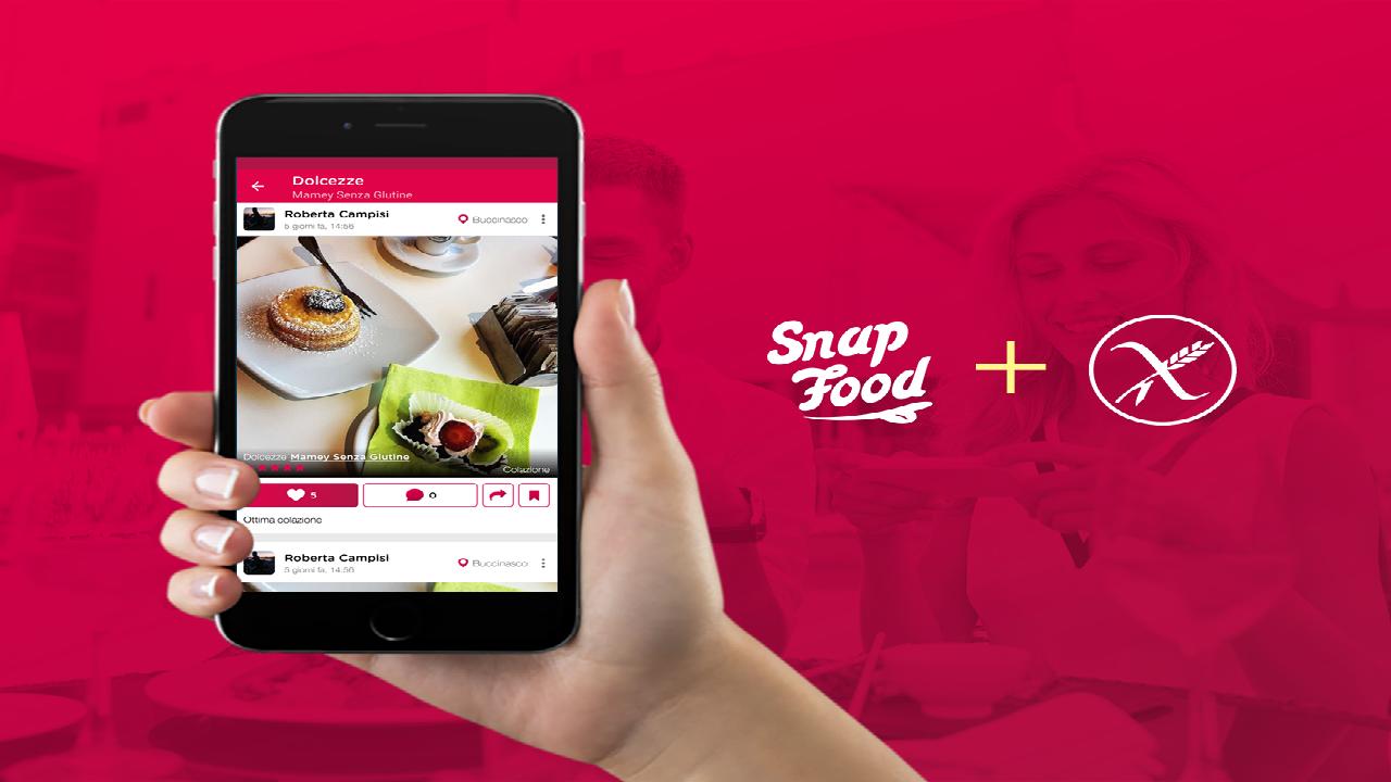 SnapFood crea la nuova community glutenfree thumbnail