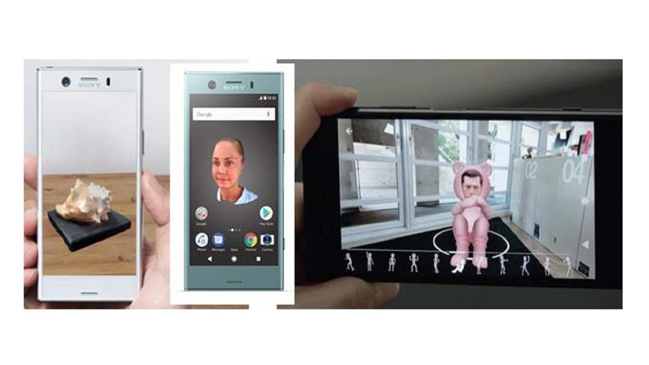 Condividi in diretta su Facebook gli scan 3D con l'app di Sony Mobile thumbnail