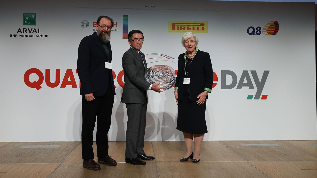 Suzuki si aggiudica il Premio Gianni Mazzocchi 2018 thumbnail