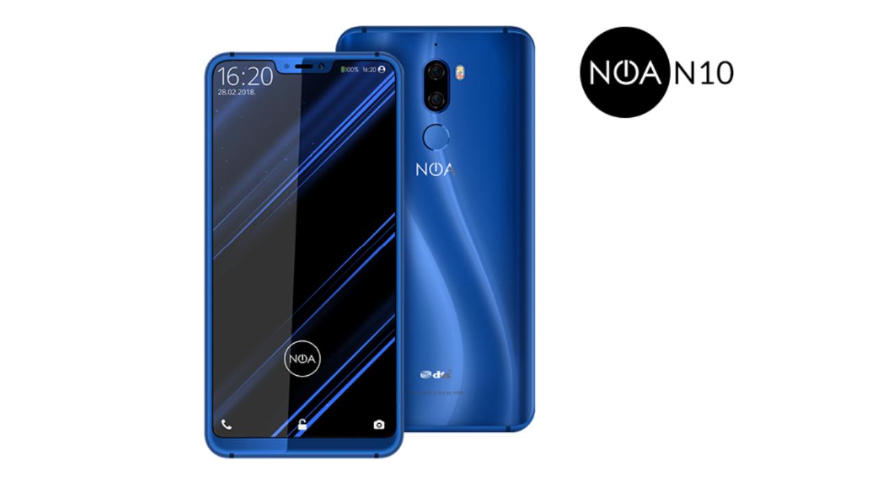 MWC 2018: NOA presenterà il suo N10 con display 18:9 thumbnail