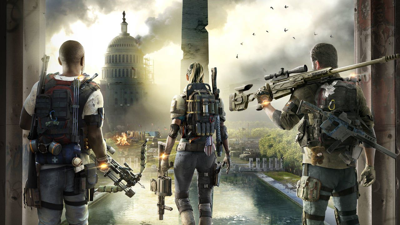 the division 2 tom clancy's ps4 xbox one pc e3 2018